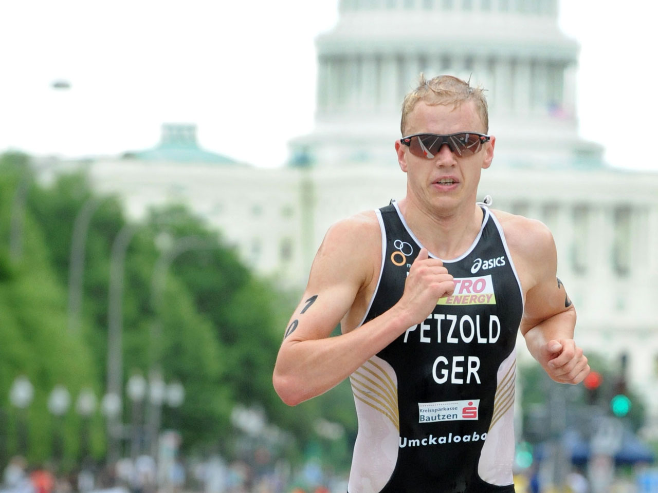 Maik Petzold beim Triathlon Weltcup in Washington, Foto: Delly Carr